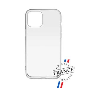 MUVIT FOR FRANCE CRYSTAL SOFT TRANSP RENFORCEE: APPLE IPHONE 12 MINI