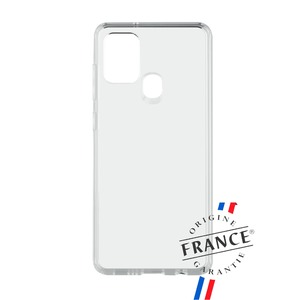 MUVIT FOR FRANCE COQUE CRYSTAL SOFT RENFORCEE : SAMSUNG A21S