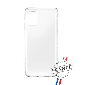 MUVIT FOR FRANCE COQUE CRYSTAL SOFT TRANSP RENFORC: SAMSUNG GALAXY A41