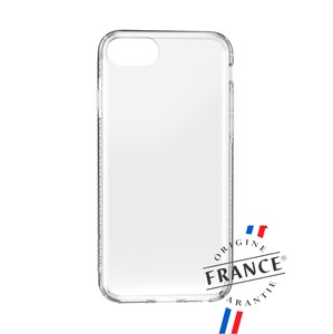 MUVIT FOR FRANCE COQUE CRYSTAL SOFT TRANSPARENTE: IPHONE SE/8/7/6S/6