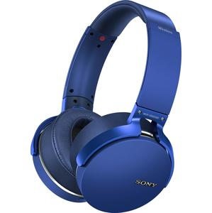 CASQUE EXTRA BASS  BLUETOOTH BLEU