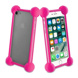 COQUE BUMPER UNIVERSELLE PINK TAILLE 5''
