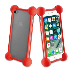 COQUE BUMPER UNIVERSELLE RED TAILLE 5''