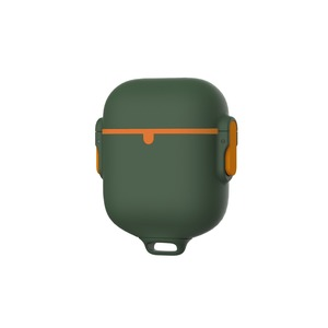 Impact and Waterproof AirPods Case (series 1 and 2) Army Green