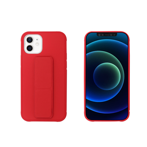 MYWAY COQUE AVEC FONCTION STAND ROUGE IPHONE 12 MINI