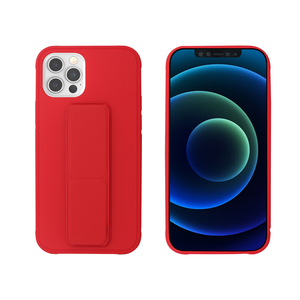 MYWAY COQUE AVEC FONCTION STAND ROUGE IPHONE 12/12 PRO