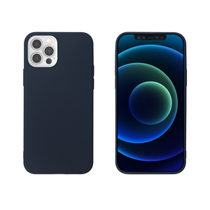 MYWAY COQUE COLORED TPU BLEU IPHONE 12/12 PRO