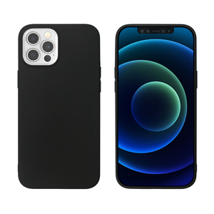 MYWAY COQUE COLORED TPU NOIR IPHONE 12 PRO MAX