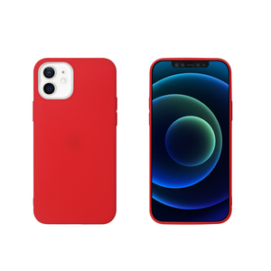 MYWAY COQUE COLORED TPU ROUGE IPHONE 12 MINI