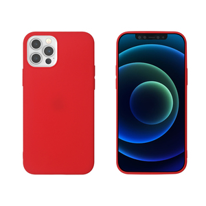 MYWAY COQUE COLORED TPU ROUGE IPHONE 12/12 PRO