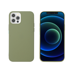 MYWAY COQUE COLORED TPU VERT IPHONE 12/12 PRO