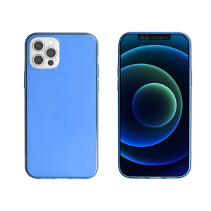 MYWAY COQUE CRYSTAL SOFT BLEU IPHONE 12/12 PRO