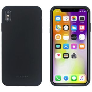 COQUE COLORS NOIR: APPLE IPHONE X