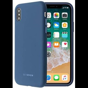 COQUE SMOOTHIE MARINE: APPLE IPHONE X