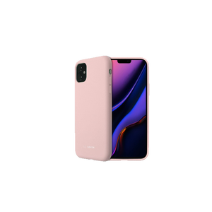 COQUE SMOOTHIE ROSE POUDRE: APPLE IPHONE 11
