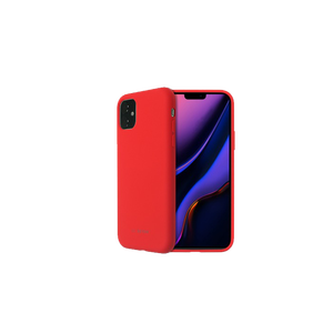 COQUE SMOOTHIE ROUGE: APPLE IPHONE 11