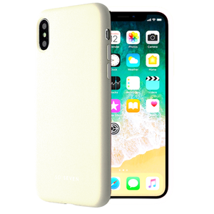 COQUE COLORS BLANC: APPLE IPHONE X