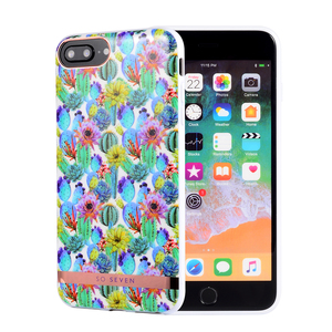 COQUE MEXICO CACTUS BLEU: APPLE IPHONE 6+/7+/8+