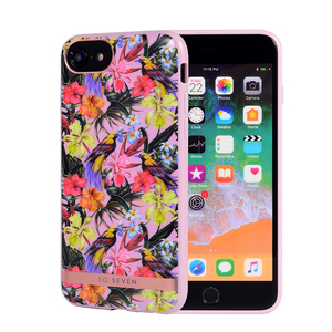 COQUE PHUKET TROPICALE OISEAU ROSE: APPLE IPHONE 6/7/8