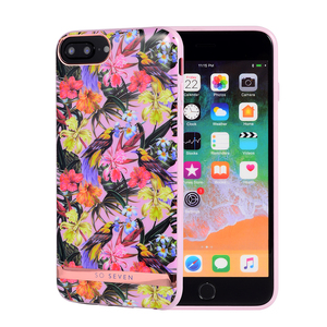 COQUE PHUKET TROPICALE OISEAU ROSE: APPLE IPHONE 6+/7+/8+