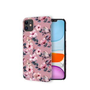 COQUE PREMIUM CRYSTAL SEOUL HIBISCUS ROSE: IPHONE 11