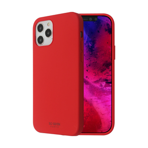 COQUE SMOOTHIE ROUGE: APPLE IPHONE 12/12 PRO