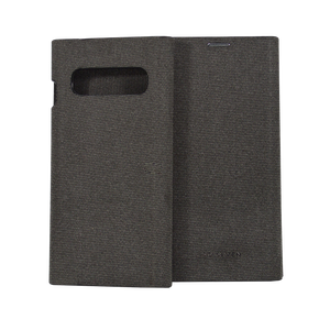 FOLIO GENTLEMAN COQUE ANTHRACITE : SAMSUNG S10