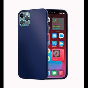 MAG CASE COQUE SILICONE IPHONE 12 PRO MAX BLEU NUIT