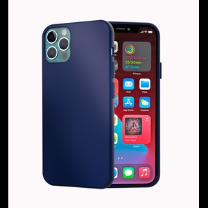 MAG CASE COQUE SILICONE IPHONE 12/12 PRO BLEU NUIT