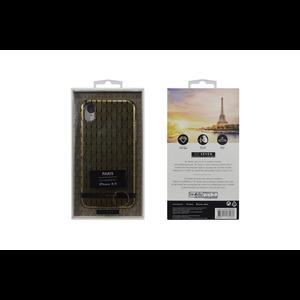COQUE PARIS ARCHE NOIR/OR: APPLE IPHONE XR