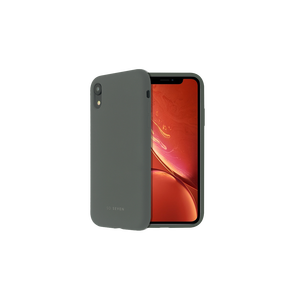 COQUE SMOOTHIE GRIS CLAIR: APPLE IPHONE XR