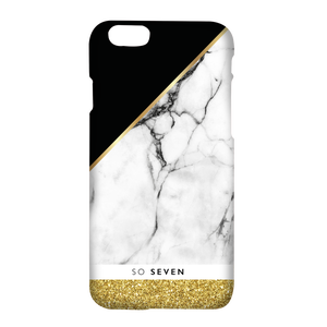 COQUE MARBRE OR: APPLE IPHONE 6+/6S+/7+/8+