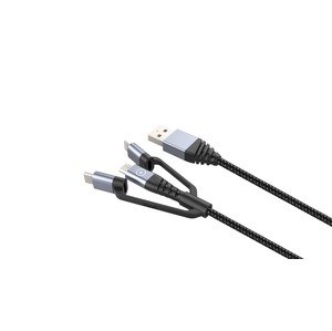 TIGER CABLE ULTRA RESISTANT TYPE C 1.2M 3A GRIS