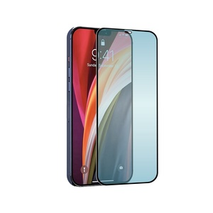 TIGER GLASS PLUS VERRE ANTI LUMIERE BLEUE ANTI BACT IPHONE 12 PRO MAX