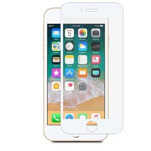 TIGER VERRE TREMPE INCURVE DEDIE MACHINE FRAME BLANC: IPHONE 6/7/8+