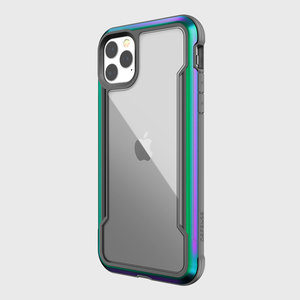 DEFENSE SHIELD FOR IPHONE 11 PRO MAX - IRIDESCENT