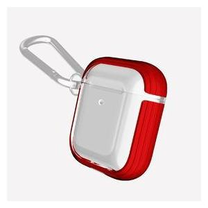 DEFENSE CLEAR FOR AIRPODS RED