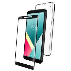 PACK COQUE FLEXIBLE + VERRE TREMPE: WIKO Y61