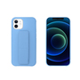 My Way MYWAY COQUE AVEC FONCTION STAND BLEU CIEL IPHONE 12 MINI
