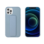 My Way MYWAY COQUE AVEC FONCTION STAND BLEU CIEL IPHONE 12/12 PRO