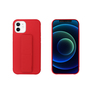 My Way MYWAY COQUE AVEC FONCTION STAND ROUGE IPHONE 12 MINI