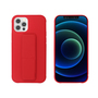 My Way MYWAY COQUE AVEC FONCTION STAND ROUGE IPHONE 12/12 PRO