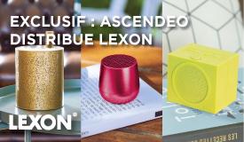 Enceintes design Lexon