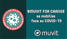 Muvit For Change Antibacterial