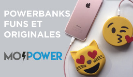 Mojipower powerbanks