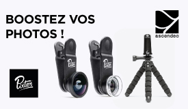 Accessoires photos smartphone